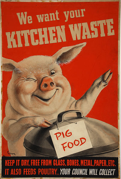 Gilroy Kitchen waste(pig_with_dustbin)_Artist_Gilroy