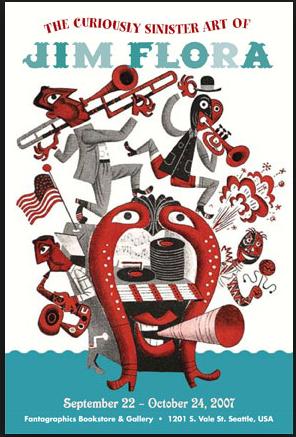 Jim Flora poster