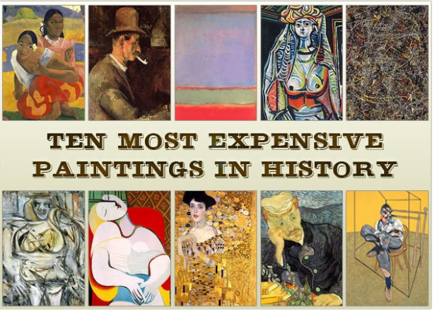 Expensive paintings