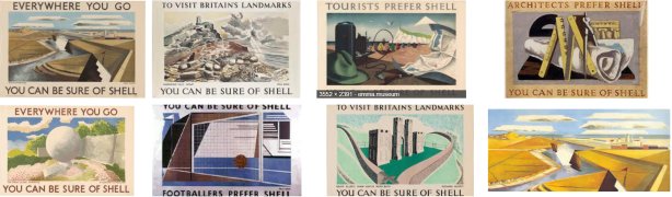 Paul Nash Shell montage