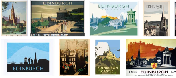 Edinburgh montage